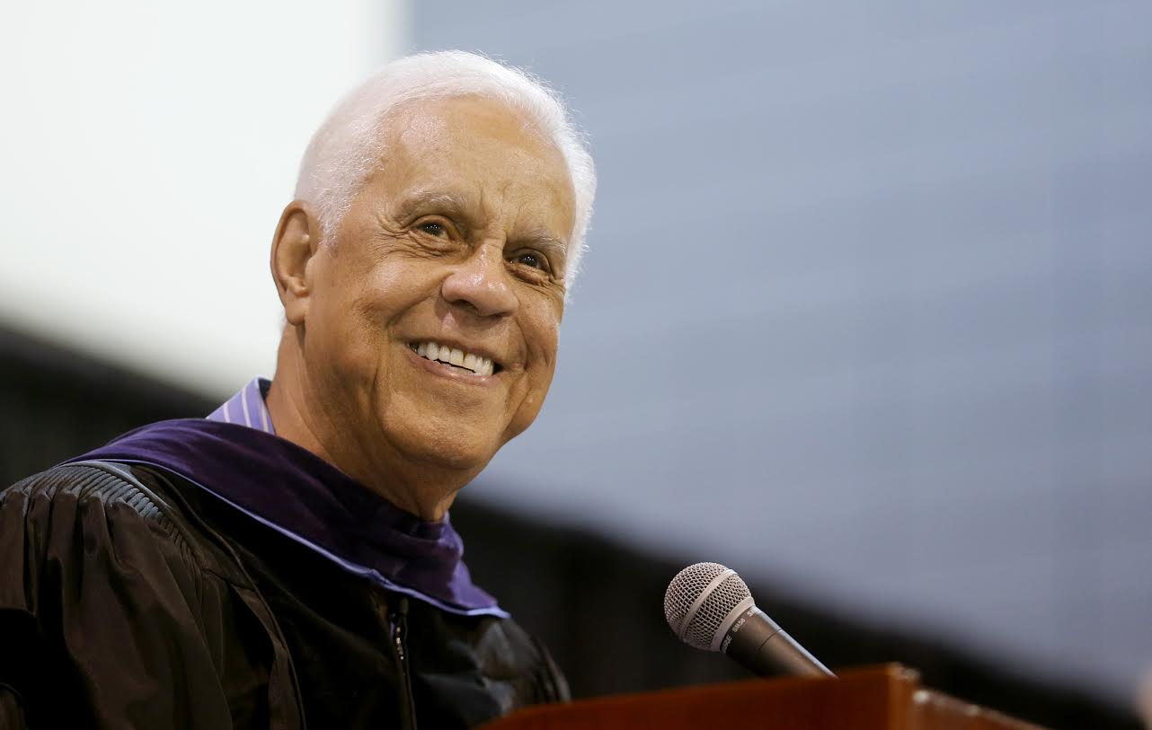 Governor L. Douglas Wilder will deliver remarks at the Wilder School's graduation.