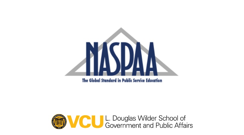 Wilder School faculty will be at the forefront of the first-ever virtual Network of Schools of Public Policy, Affairs, and Administration (NASPAA) conference held October 14-16.