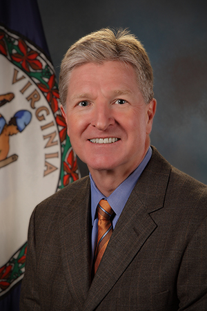 Portrait photo of Secretary of Public Safety Brian J. Moran
